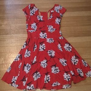 Abercrombie & Fitch floral dress